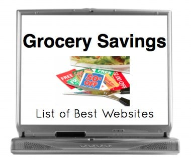 Websites for Free Grocery Savings