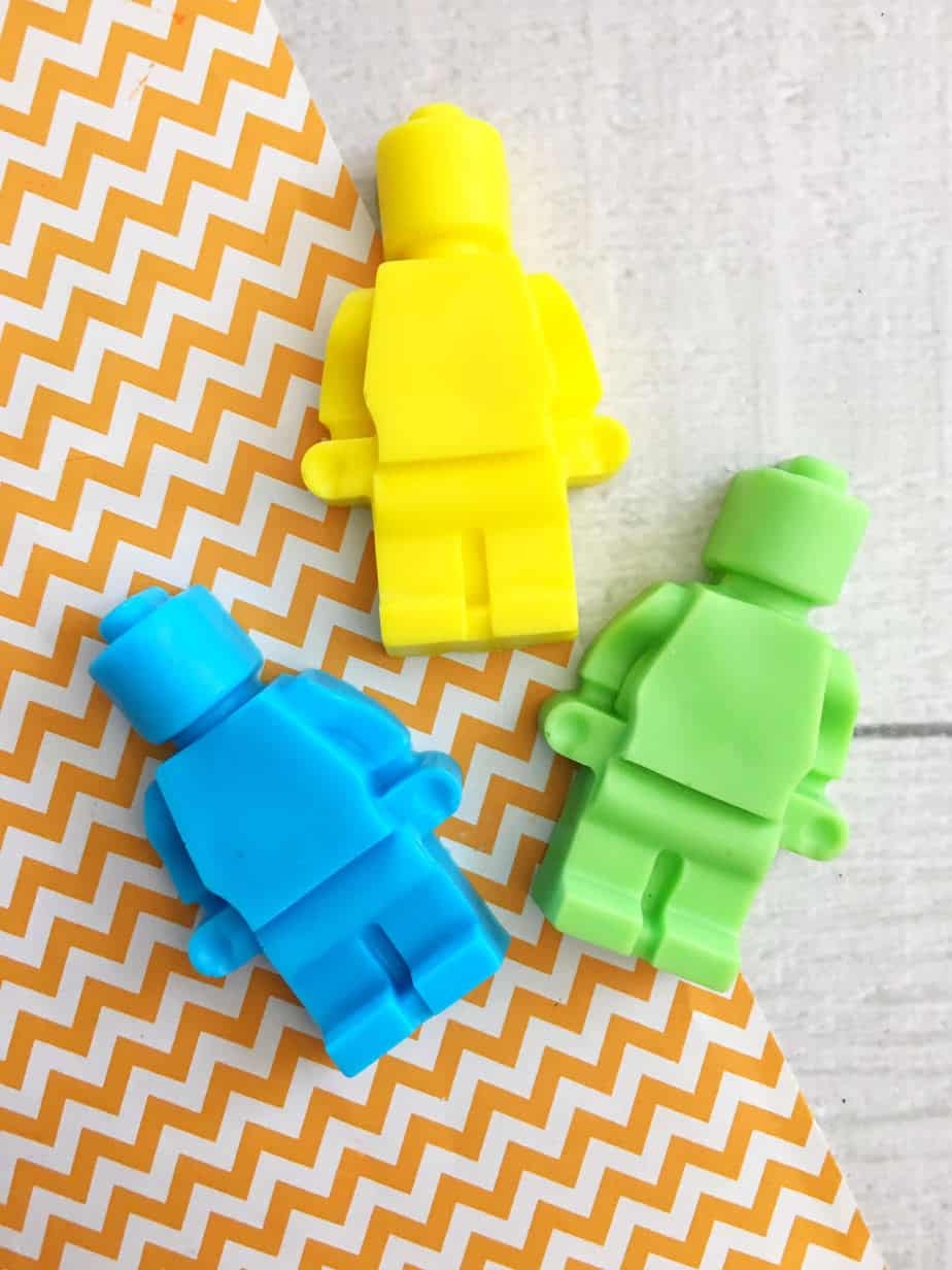 How to Make Melt and Pour Soap Base - Cute LEGO Soaps