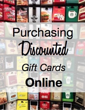 How to Purchase Discounted Gift Cards
