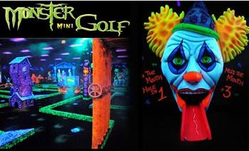 graphic about Monster Mini Golf Coupons Printable titled Monster Mini Golfing: Acquire 1, Order 1 No cost Printable Coupon