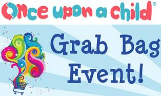 Once Upon A Child Is Hosting Grab Bag Event This Weekend