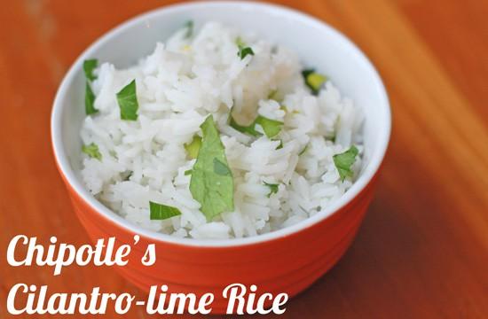 Chipotle Cilantro Lime Rice Copycat
