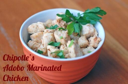 Copycat Chipotle Chicken Bowl Recipe