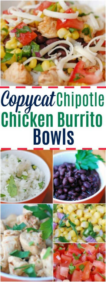 Love Chipotle burrito bowls? Grab these easy recipes and make your own bowls at home!