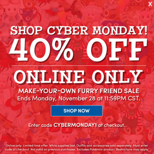 cyber-monday-build-a-bear-promo