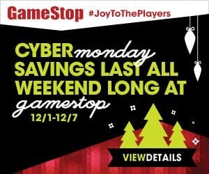 Gamestop Cyber Monday Sale Week