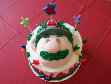 Mario Galaxy Cake Sweet Top Cakery