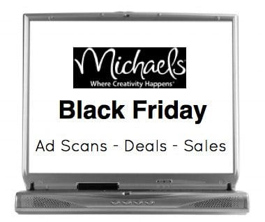 Michaels Craft Black Friday sales