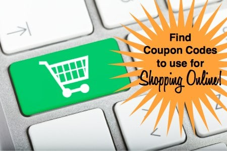 find coupon codes for shopping online