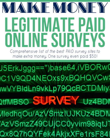 This list is the best paid survey sites that offer legitimate paid online surveys so you can get paid to take surveys online! If you want to start doing paid surveys and get paid for your opinion, this post contains our favorite survey companies to take surveys for money!