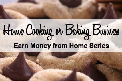 Create at-home cooking or baking business