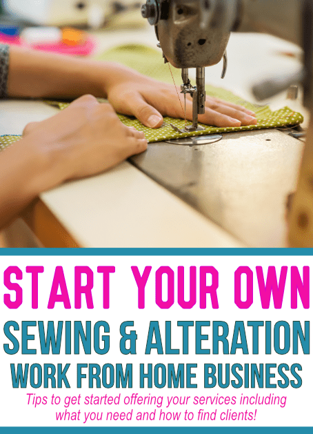 Start A Sewing And Alteration Business Impressive How To Start A Sewing Machine