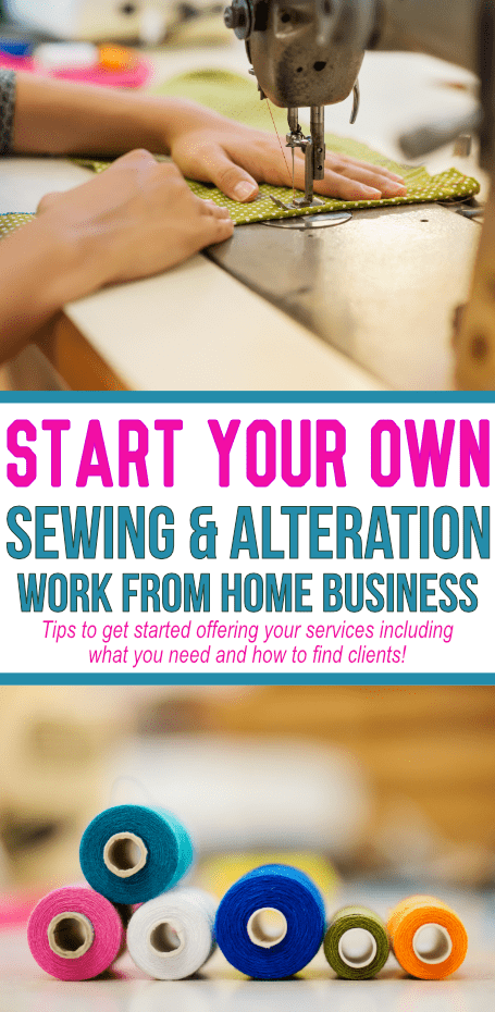 If you are the go-to seamstress amongst friends, consider starting your own business! Find some tips to get started today!