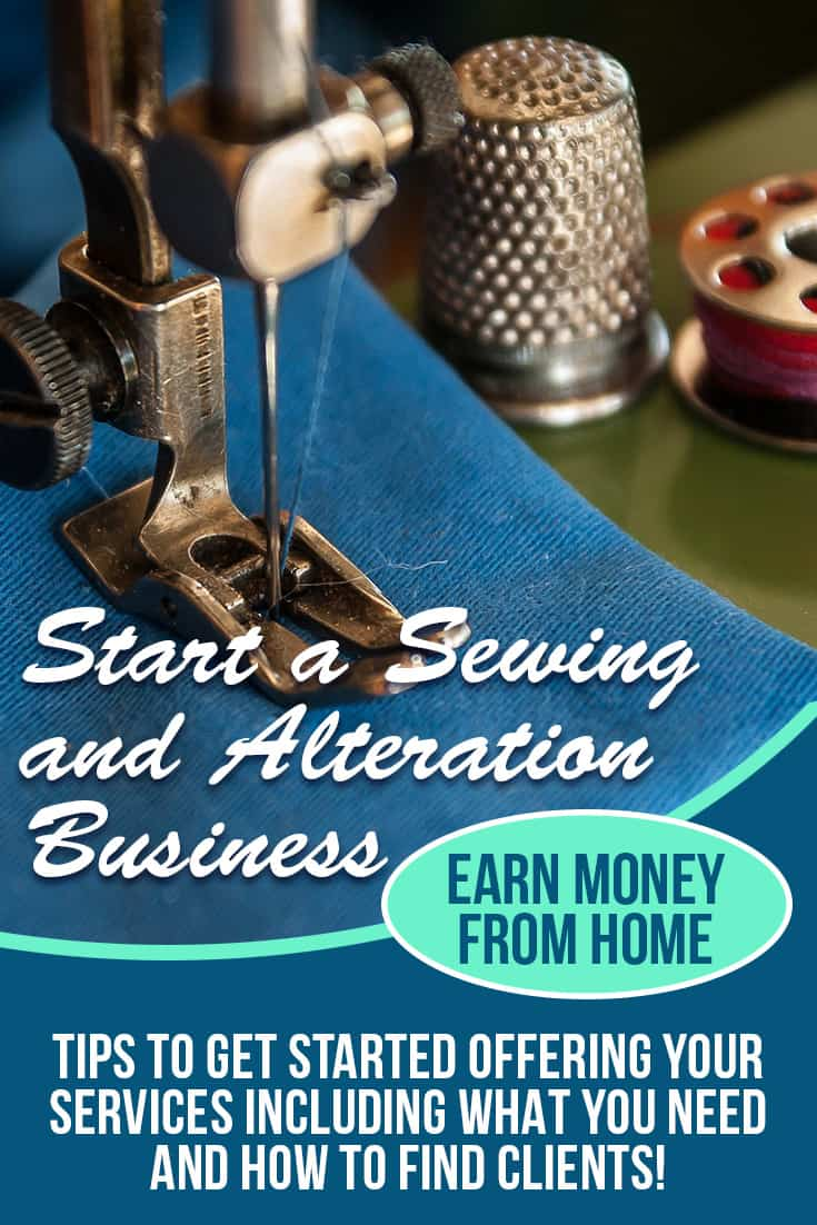 Read this post to find out how to start making money by sewing from home! via @AndreaDeckard