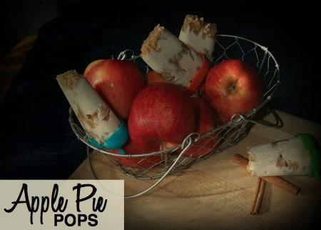 Apple Pie Popsicles