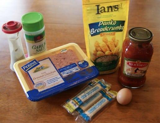 Chicken Parm Pops Recipe Ingredients