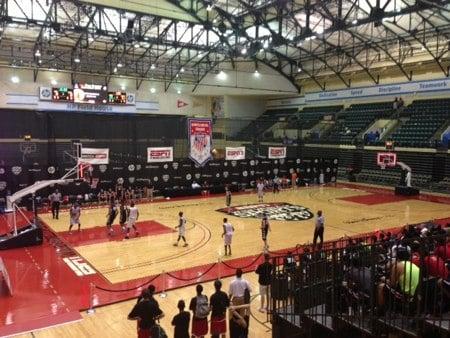 ESPN WWOS Basketball Courts