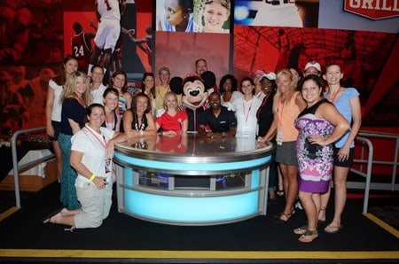 ESPN WWOS Bloggers with Mickey