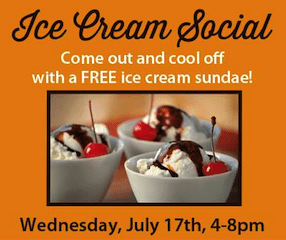 Earth Fare Ice Cream Social