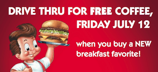 Frisch's Free Coffee Coupon