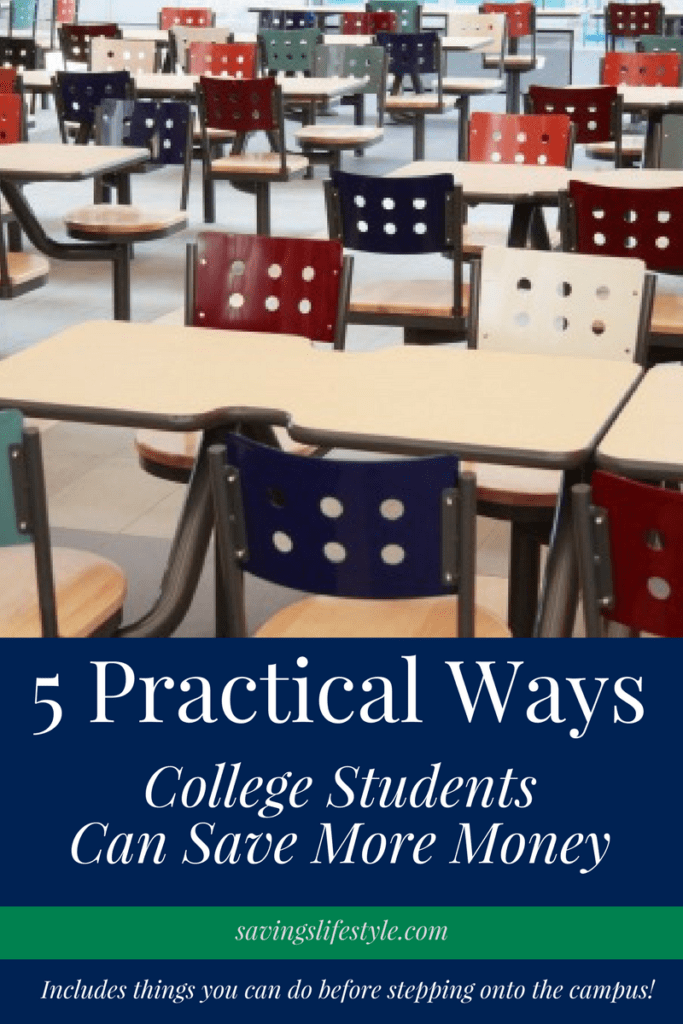 Are your kids heading to college? This list includes practical ways that college students can save money on expenses from a mom whose been there!