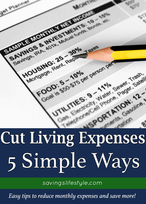 These saving money tips will help to reduce your monthly living expenses. Whether you're cutting expenses to the bone, or just looking for how to drastically cut expenses, try these tips to save more!