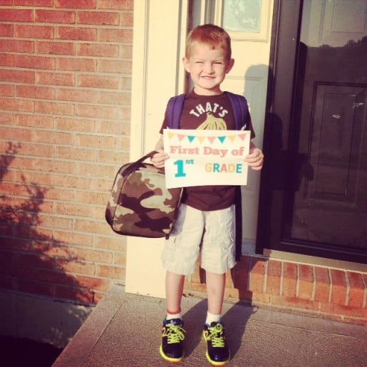 Andon First Day of School