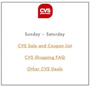 CVS Shopping FAQ