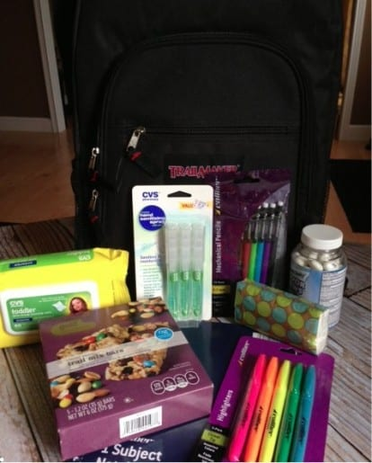 CVS back to school giveaway