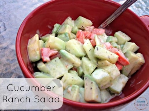Cucumber Ranch Salad