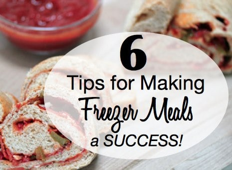 Make Freeer Meals a Success