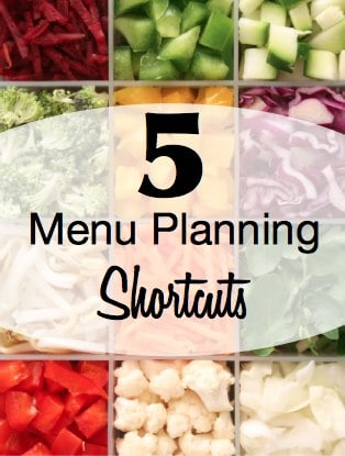 Save with Menu Planning Shortcuts