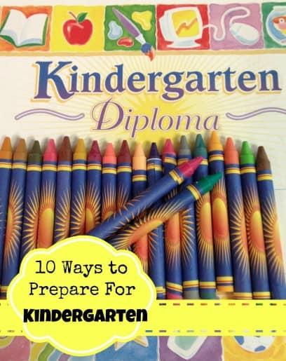 Ways to Prepare for Kindergarten