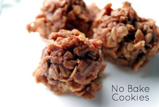 Homemade No Bake Cookies Recipe