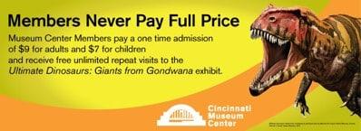 Join Cincinnati Museum Center