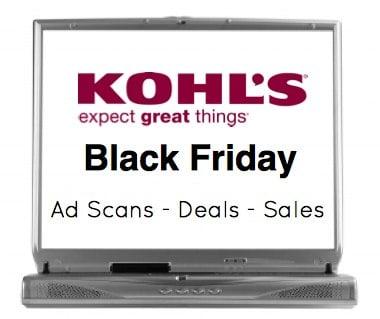 Kohls Black Friday Sales
