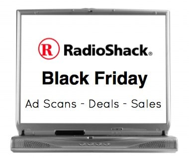 Radio Shack Black Friday Sales