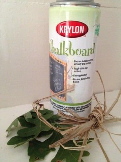 Chalk Labels Napkin Rings DIY
