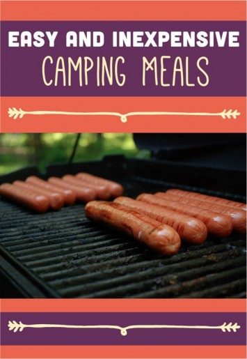 Check out this list of 5 inexpensive and easy camping meals. Our kids love them all!