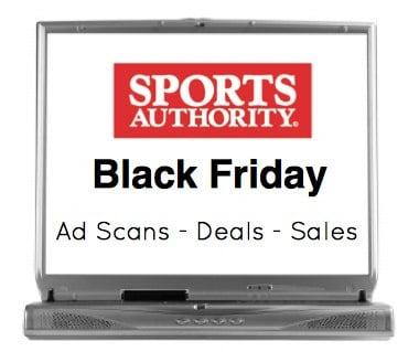 Sports Authority Black Friday Sales