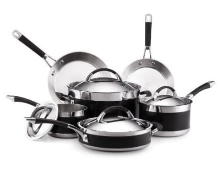 Anolon Ultra Clad Stainless Steel Cookware Set