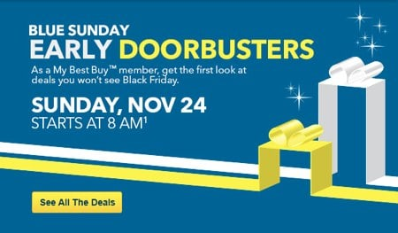 Best Buy Pre Black Friday Sales