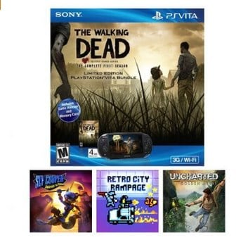 Holiday Walking Dead Vita Bundle_ PlayStation