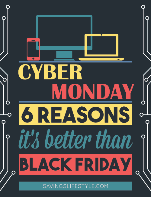 6 Reasons people prefer shopping Cyber Monday over Black Friday. A few actually help you save time, money and your sanity!