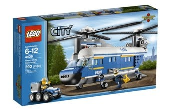 LEGO City Police Heavy Lift Heliocopter