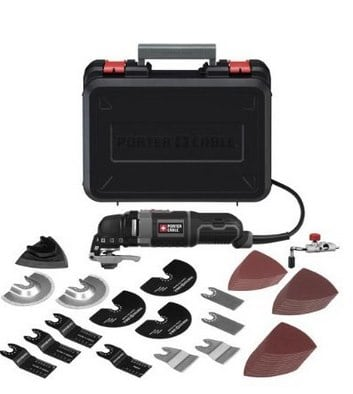 PORTER-CABLE 3-Amp Oscillating Multi-Tool Kit with Accessories