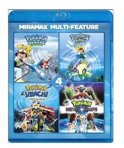 Pokemon 4 Film Series