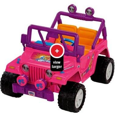 Power Wheel Barbie Jammin Jeep