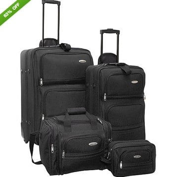 Samsonite 4 Piece Travel Set 2 Colors | eBay