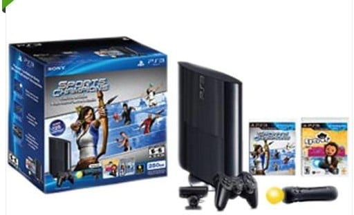 Sony PlayStation 3 250GB Sports Champion Eyepet Move Bundle Retail | eBay